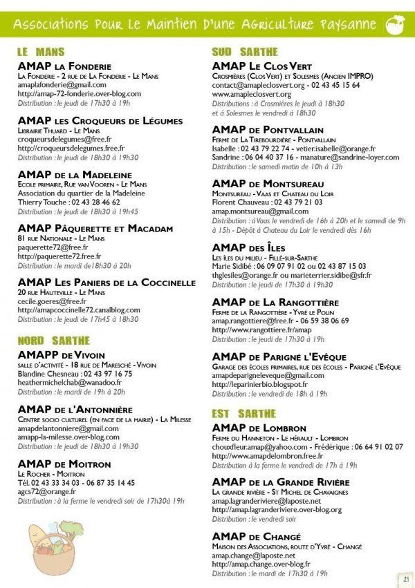 Liste AMAP 72