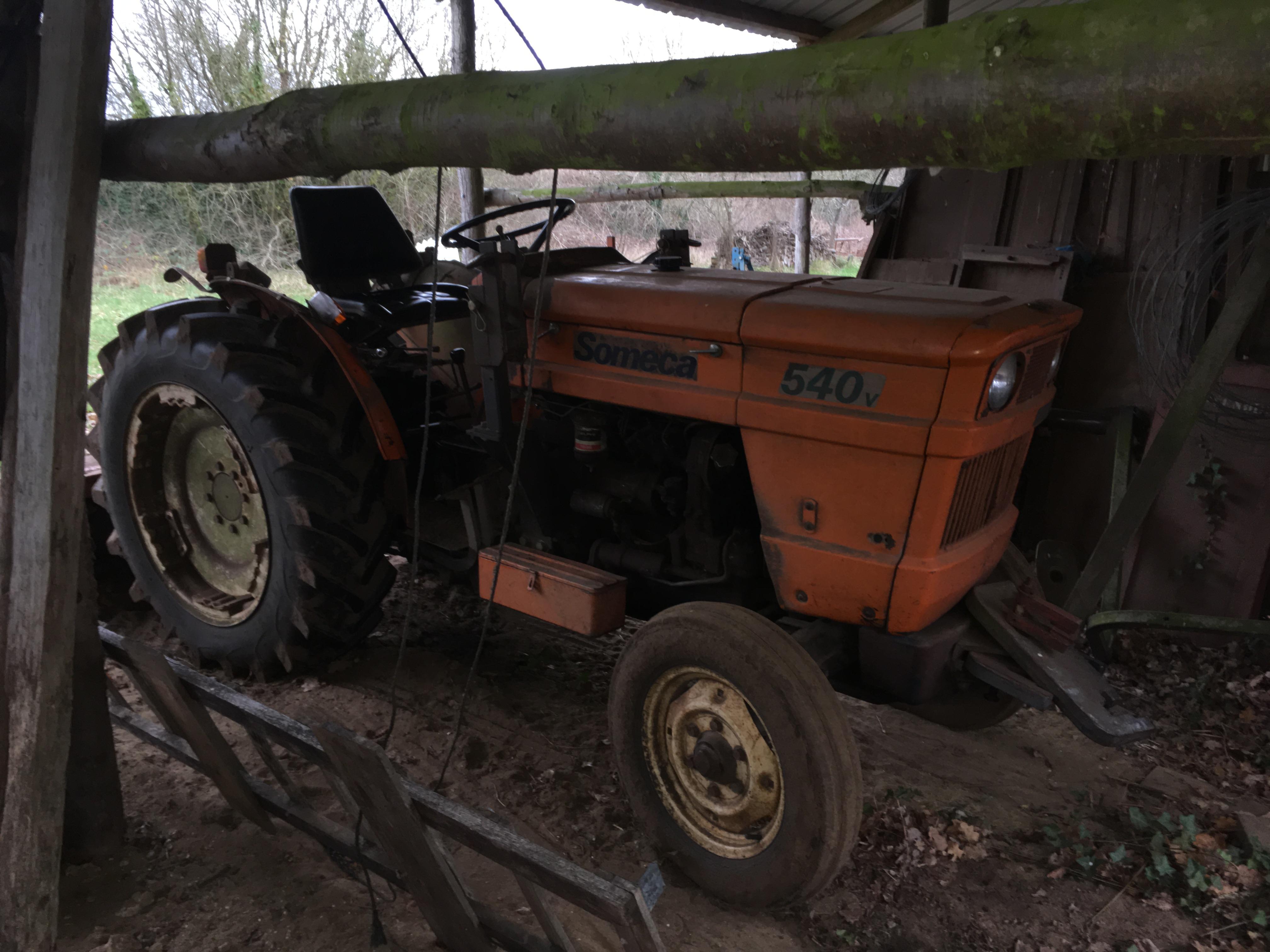 Les outils tractés de la ferme du hanneton